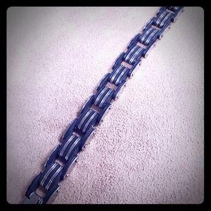 ☆ Mens Stainless Steel Bracelet  NEW ☆